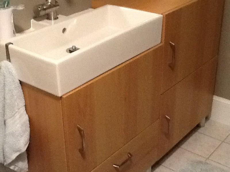 Narrow Depth Bathroom Sink