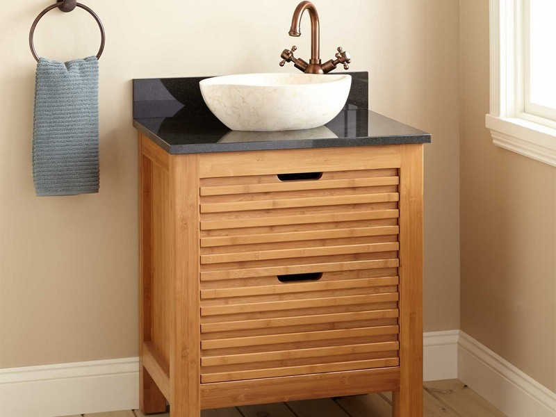 Narrow Depth Bathroom Vanity And Sink