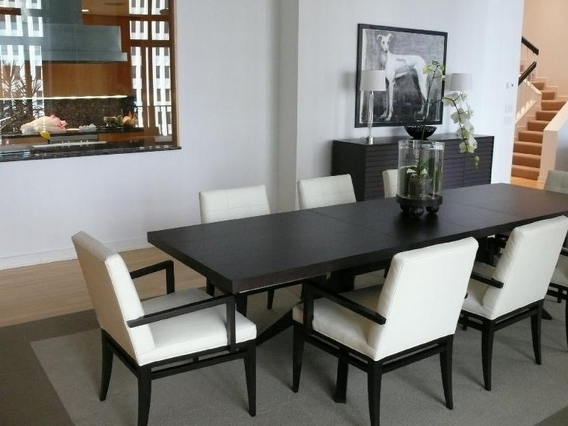 Narrow Dining Room Tables With Leaves