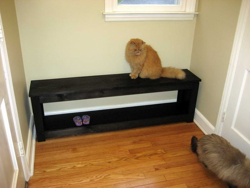 Narrow Entryway Bench