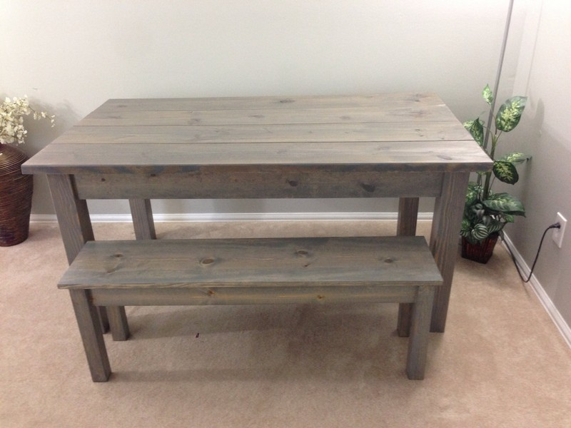 Narrow Farm Table