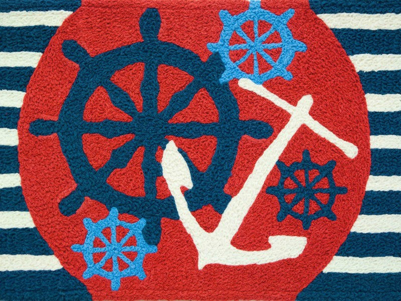 Nautical Area Rugs Anchors