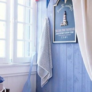 Nautical Blue Bathrooms