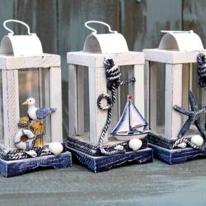 Nautical Lantern Candle Holders