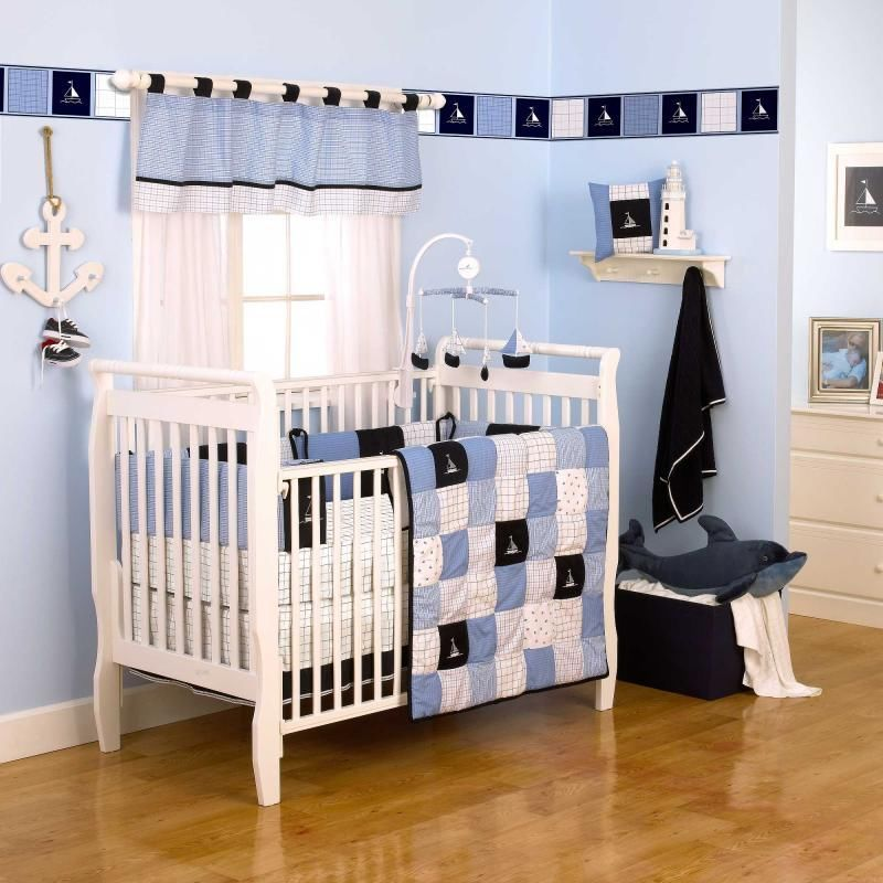 Nautical Nursery Bedding Sets