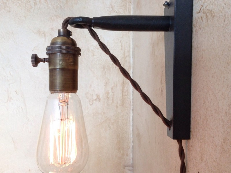 Nautical Plug In Wall Sconce