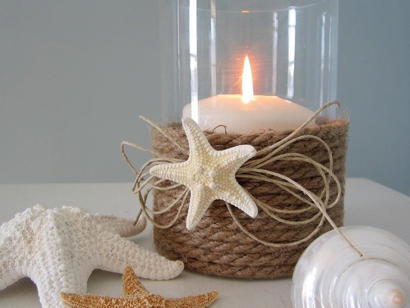 Nautical Votive Candle Holders