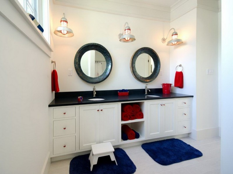 Nautical Wall Sconces Bathroom
