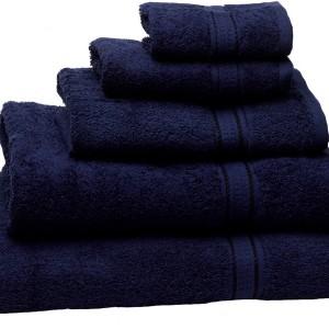 Navy Blue Bath Towels