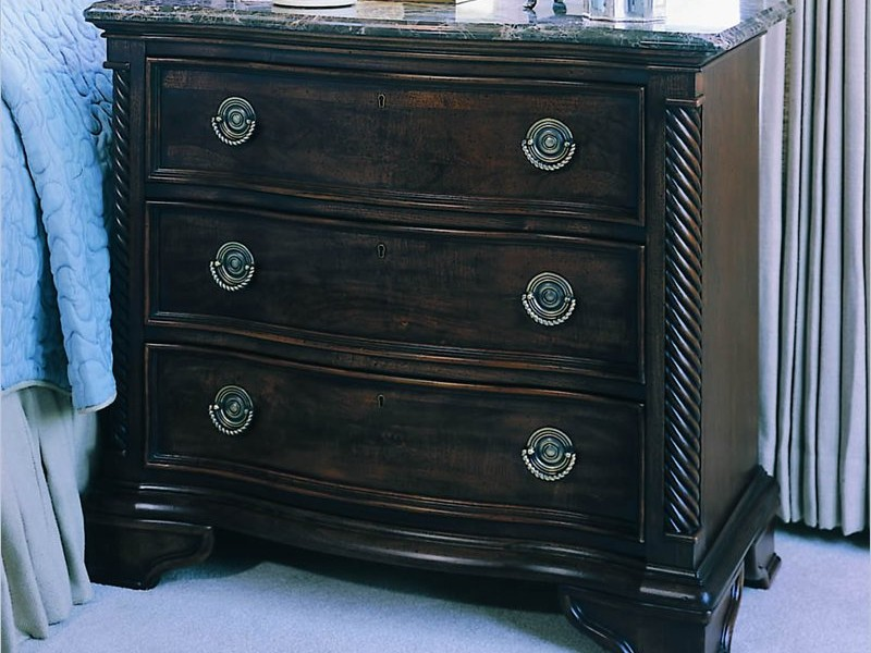 Navy Blue Distressed Furniture