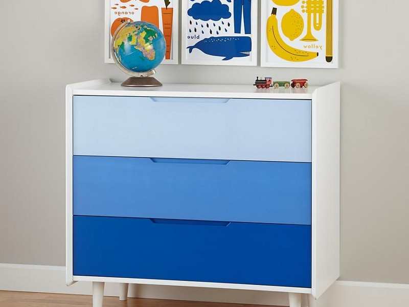 Navy Blue Dresser Kids