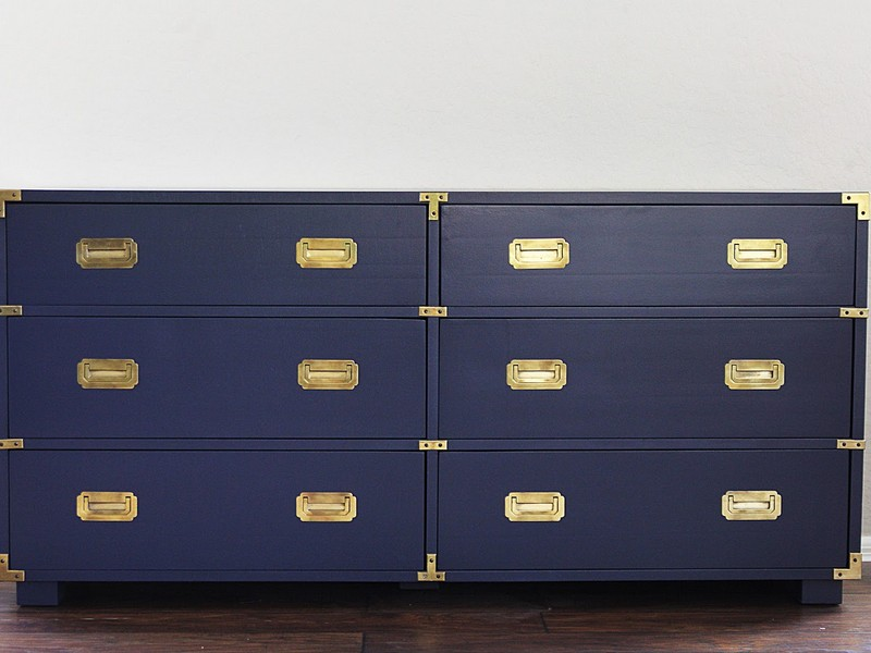 Navy Blue Dresser