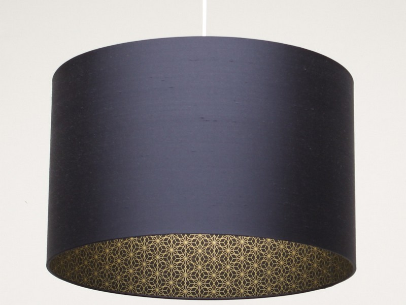 Navy Blue Lamp Shades