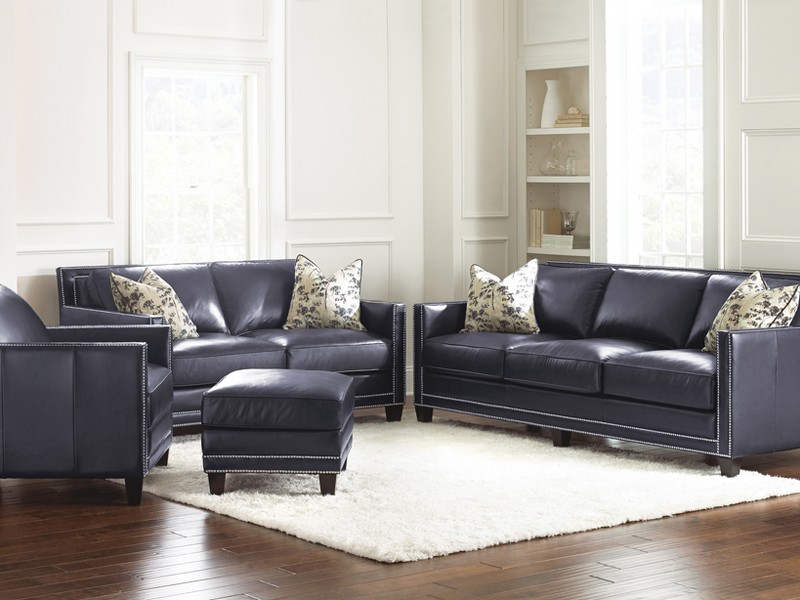 Navy Blue Sofa And Loveseat