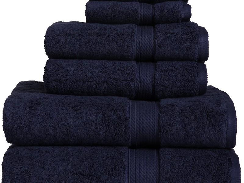 Navy Blue Towels