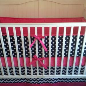 Navy Crib Sheet