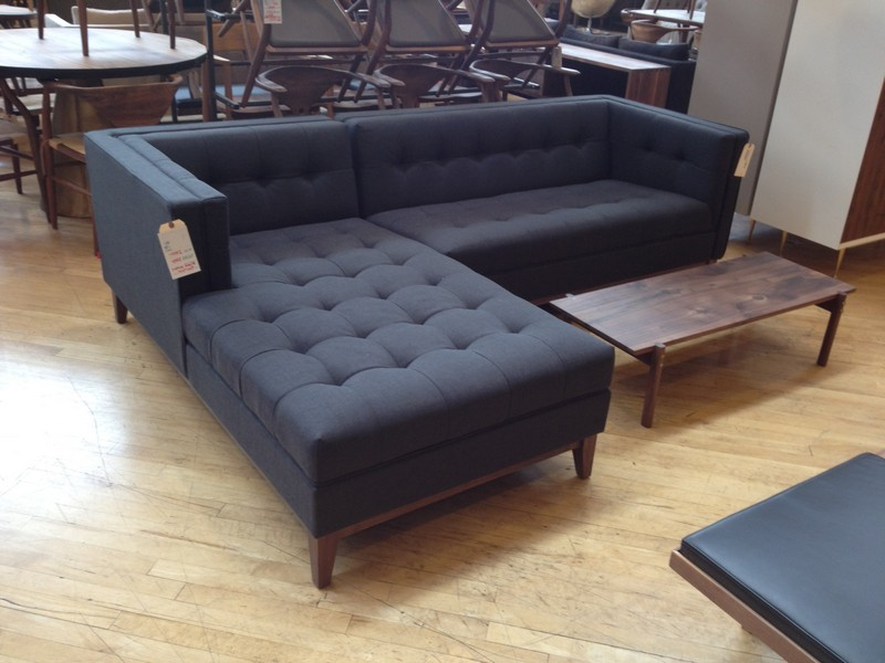 Navy Sectional Sofa