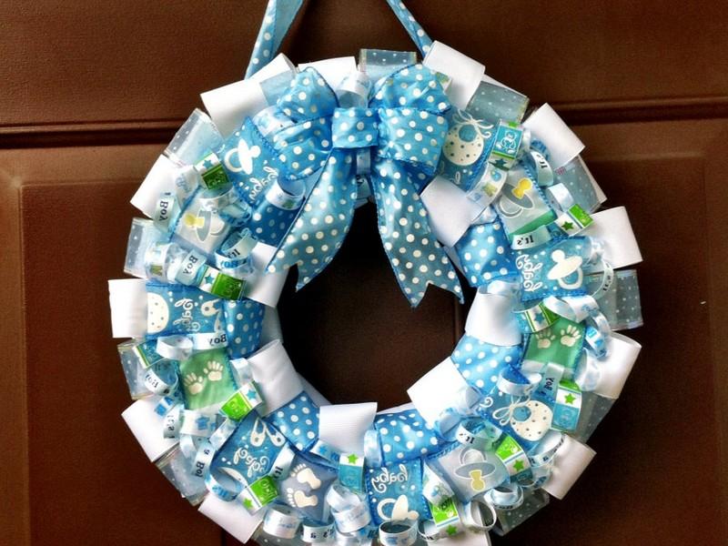 New Baby Wreaths For Doors