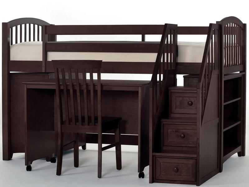 Nolin Staircase Bunk Bed