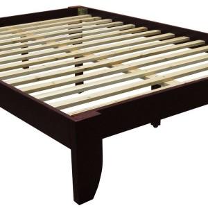 Nomad Platform Bed Frame Solid Hardwood