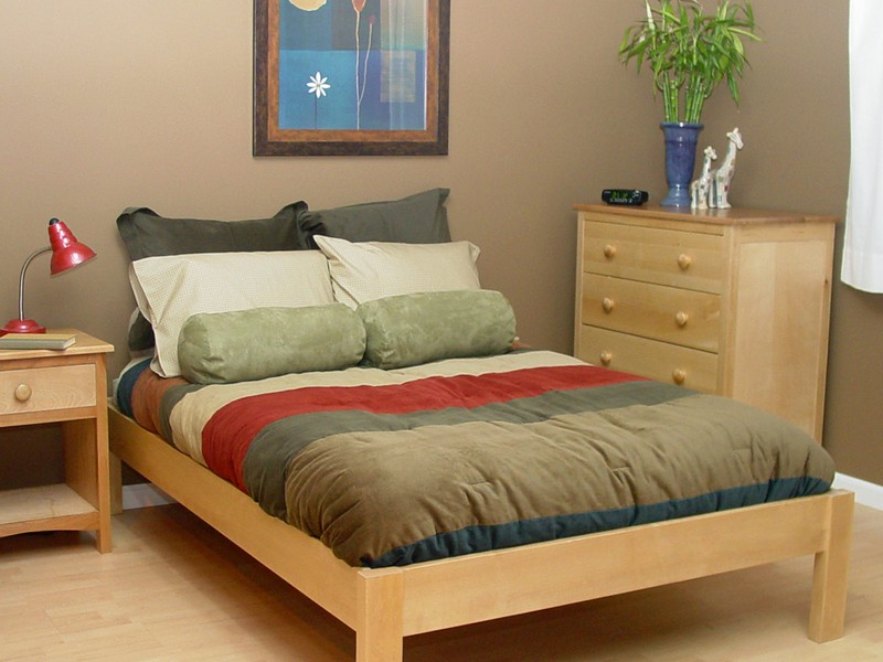 Nomad Platform Bed Queen