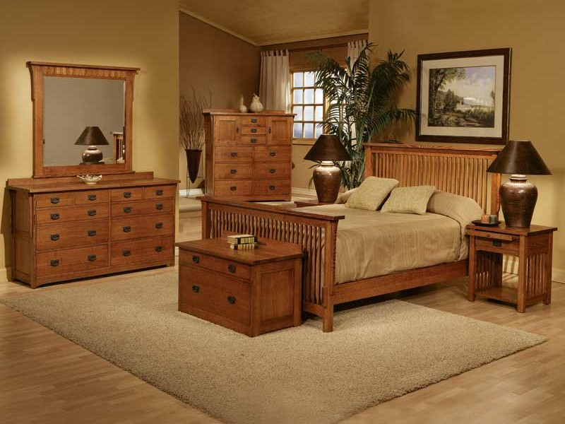 Oak Mission Style Furniture