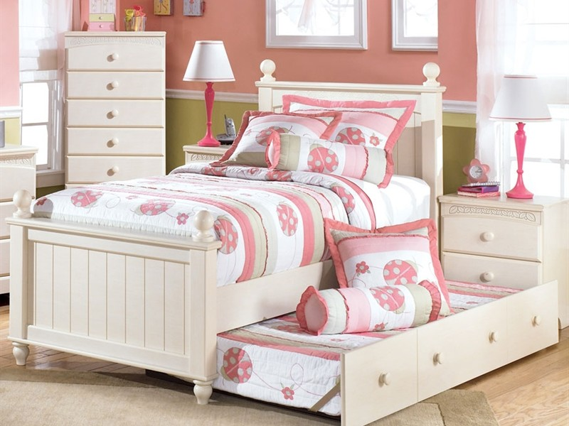 Oak Sleigh Bed Queen