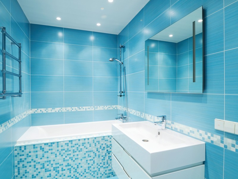 Ocean Blue Slate Bathroom Tiles