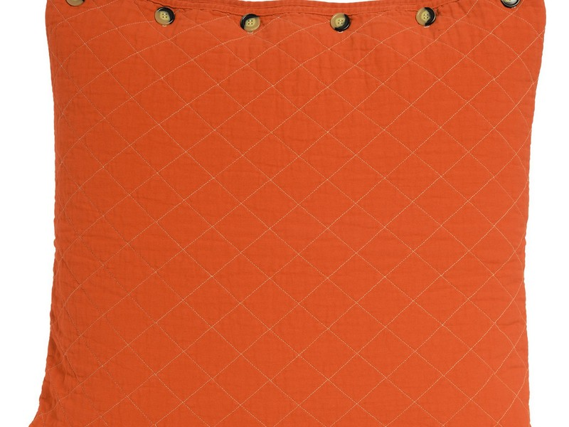 Orange Euro Sham