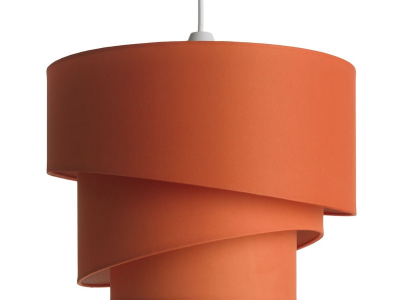 Orange Lamp Shades