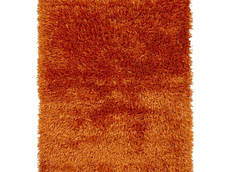 Orange Shag Rug