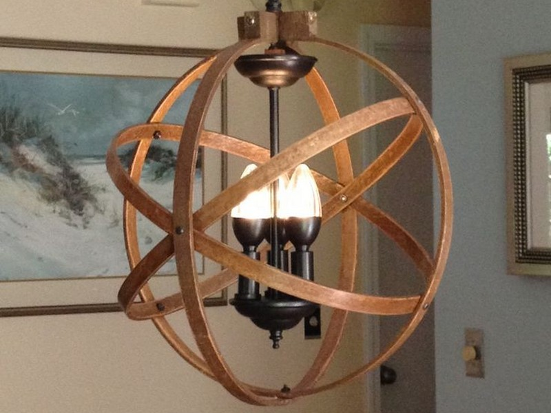 Orb Ceiling Light Fixture