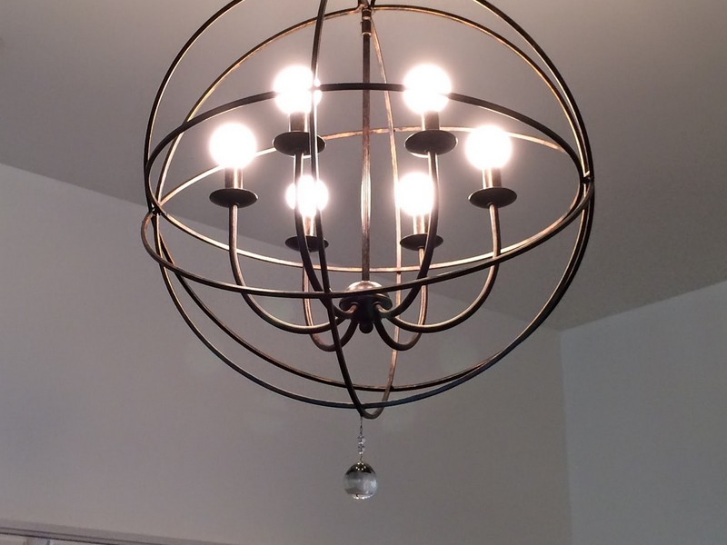 Orb Light Fixture Home Depot
