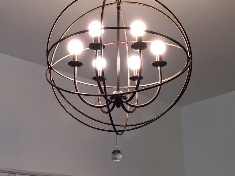 Orb Light Fixture Home Depot