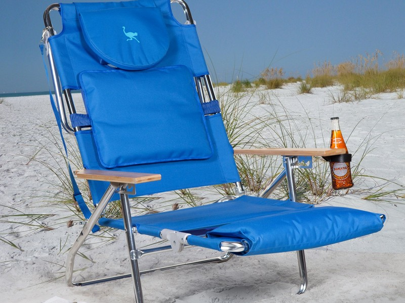 Ostrich Beach Chair Towel