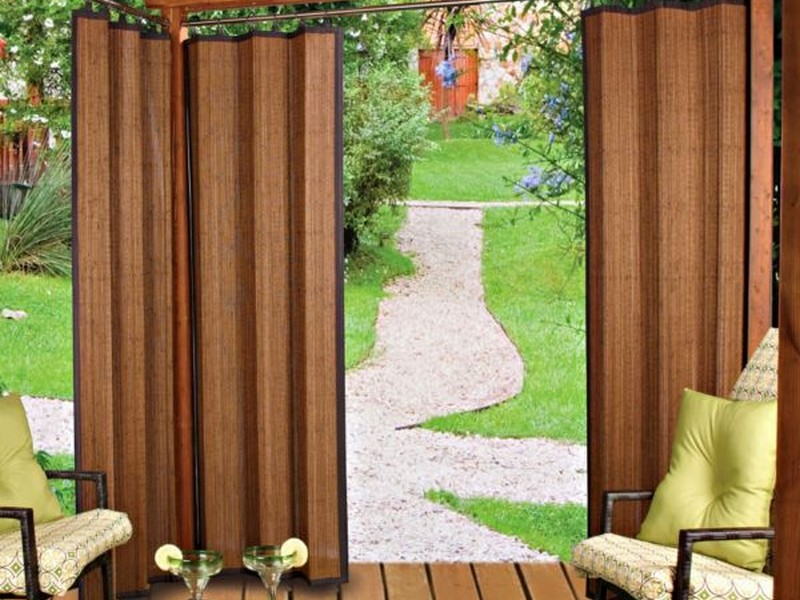 Outdoor Bamboo Curtains