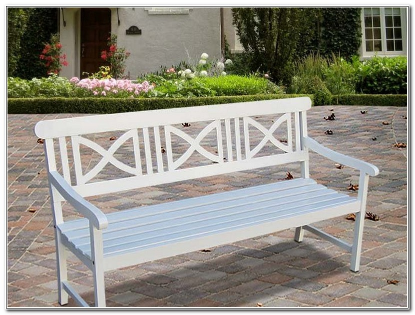 Outdoor Benches With Backs
