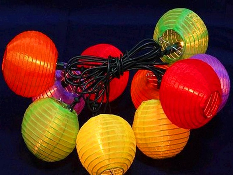 Outdoor Chinese Lanterns Nylon