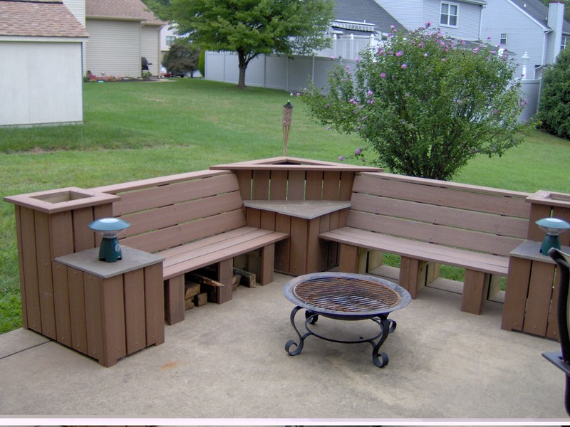 Outdoor Corner Bench Plans