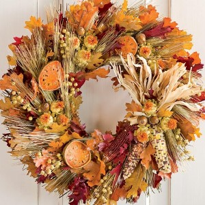 Outdoor Fall Wreaths