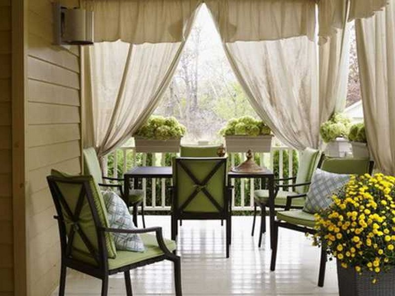 Outdoor Patio Drapes
