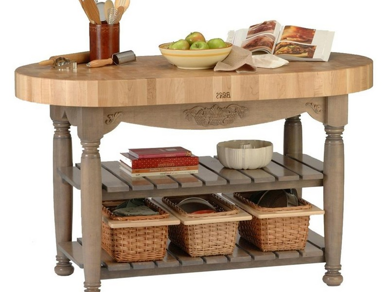 Outdoor Prep Table With Storage