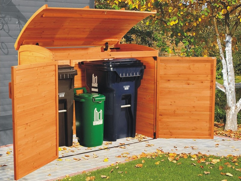 Outdoor Storage Bins For Trash Cans
