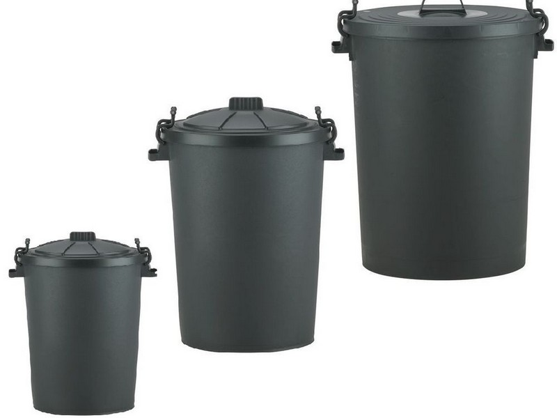 Outdoor Storage Bins With Lids