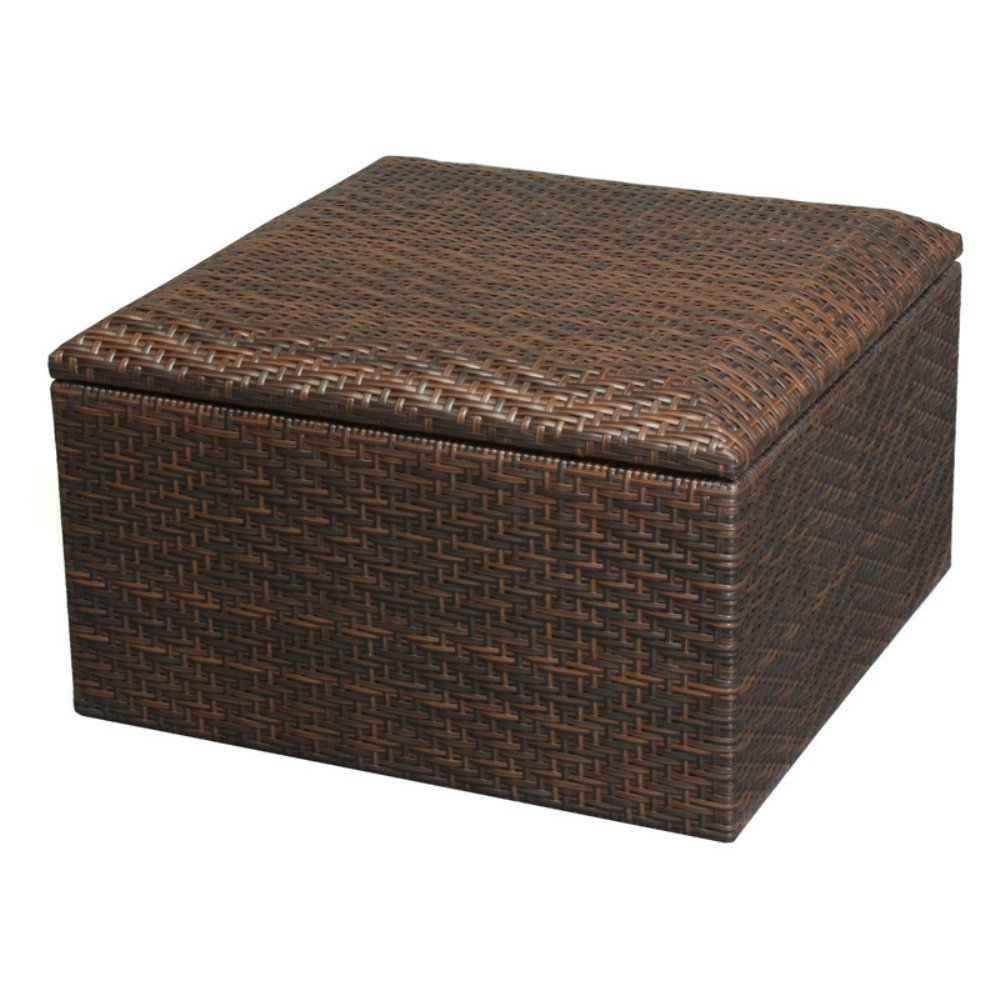 Outdoor Storage Ottoman Bench