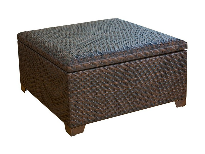 Outdoor Storage Ottoman