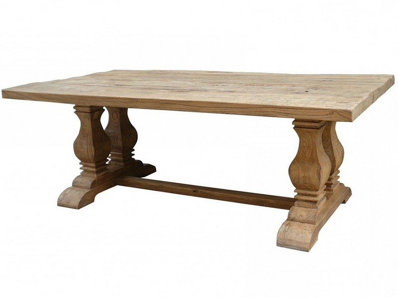 Outdoor Trestle Dining Table