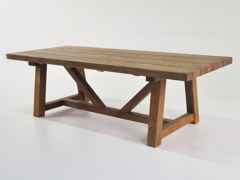 Outdoor Trestle Table