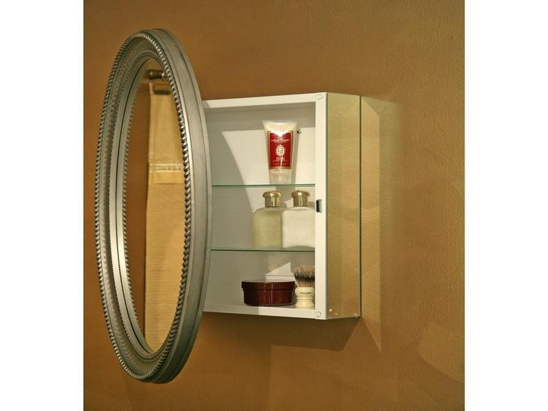 Oval Bathroom Mirror With Light
