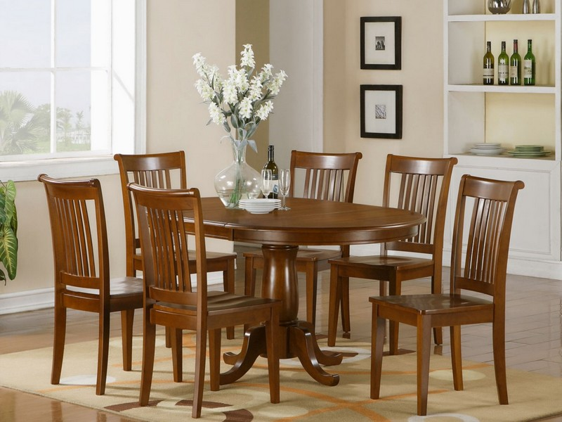 Oval Dining Room Tables For 6